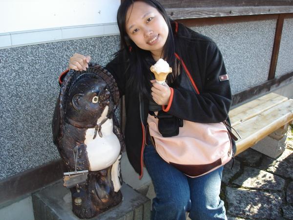 Day2~馬龍宿..可愛的貍貓..冰淇淋也很讚..
