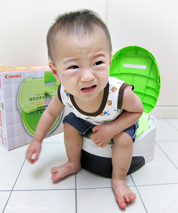 Combi【優質坐式分段訓練便器】-1-1