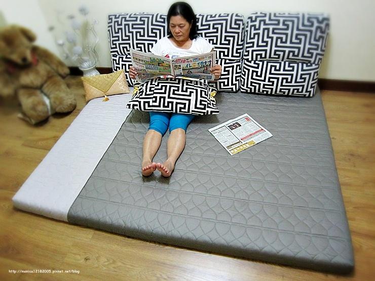HOLA【色彩鋪棉記憶床墊-雙人-灰色】-41-41
