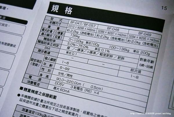 HOLA【TANITA體脂計 BF047】-4-4