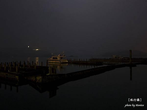 日月潭的夜