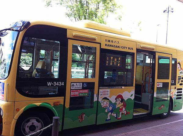 哆來A夢的公車