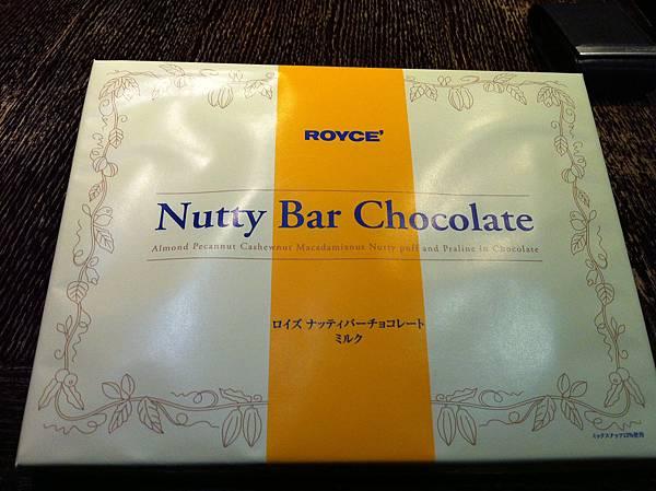 伴手禮Royce 巧克力棒