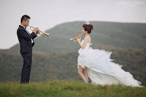婚紗-小號-喇叭-阿奶-NYUKO-003