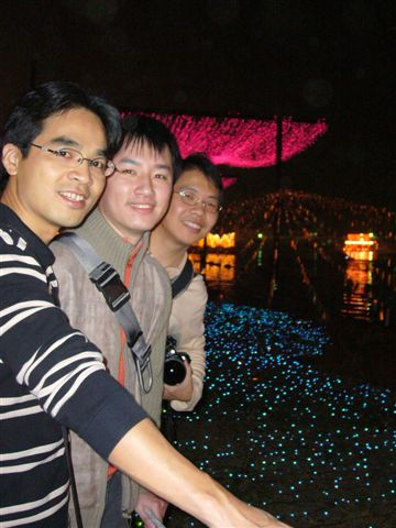 左到右:榮勝、志偉、謝博
