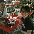 跟凱哥、乙鴻、jeff、普普逛大台南夜市,遇到傳說中單身的佳婉與男人共食晚餐,大八卦!
