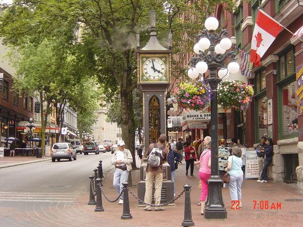 蓋斯鎮---世界上最古老的蒸汽鐘