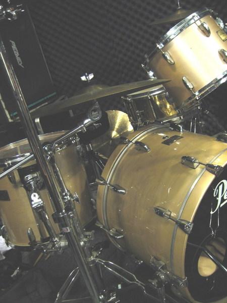 錄音室的鼓