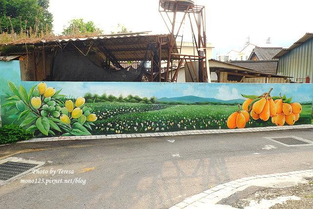 1439391662 2730579849 - 【台中新社】馬力埔彩繪小徑.新社也有彩繪村,以在地的風土人情、特色水果、香菇以畫,非常有在地色彩的彩繪村