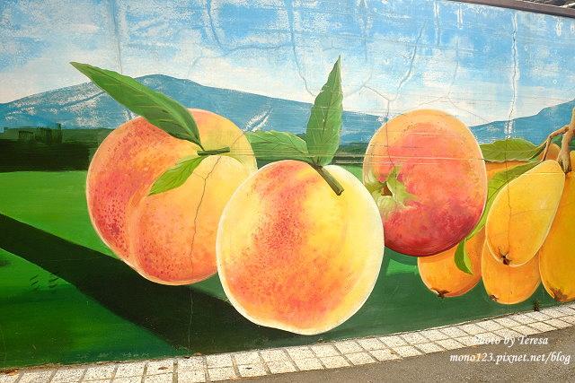 1439391672 2008193709 - 【台中新社】馬力埔彩繪小徑.新社也有彩繪村,以在地的風土人情、特色水果、香菇以畫,非常有在地色彩的彩繪村