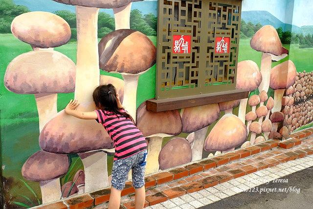 1439391690 3364975882 - 【台中新社】馬力埔彩繪小徑.新社也有彩繪村,以在地的風土人情、特色水果、香菇以畫,非常有在地色彩的彩繪村
