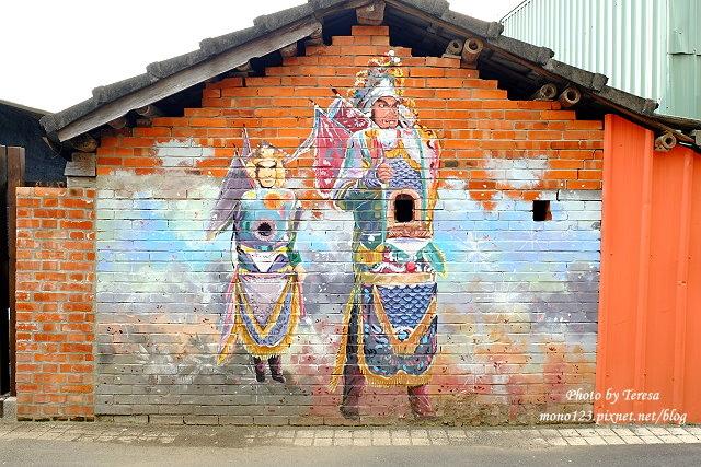 1439391711 2172140548 - 【台中新社】馬力埔彩繪小徑.新社也有彩繪村,以在地的風土人情、特色水果、香菇以畫,非常有在地色彩的彩繪村