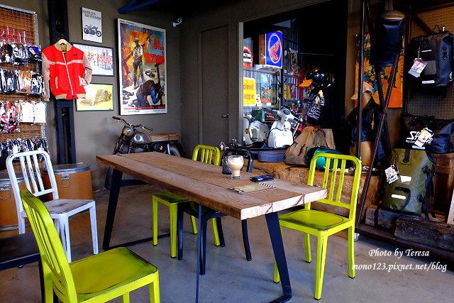 1444057066 2818624805 - 神岡咖啡│BAKKU Garage 老車車庫.一群熱愛偉士牌的車友所打造的休憩空間,販售的除了配備、飲料,還有濃濃的人情味