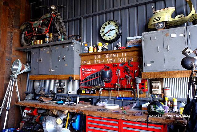 1444057103 2809303939 - 神岡咖啡│BAKKU Garage 老車車庫.一群熱愛偉士牌的車友所打造的休憩空間,販售的除了配備、飲料,還有濃濃的人情味