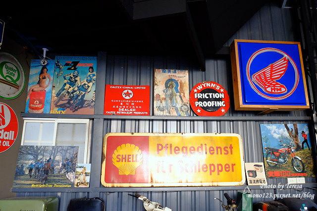 1444057108 3831545692 - 神岡咖啡│BAKKU Garage 老車車庫.一群熱愛偉士牌的車友所打造的休憩空間,販售的除了配備、飲料,還有濃濃的人情味