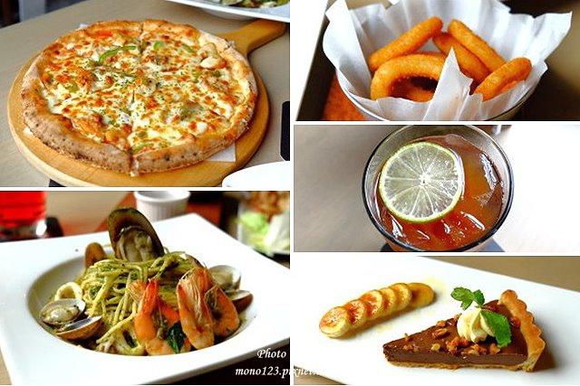1444151474 2717925431 - 【台中西區.義式餐廳】薄多義義式手工披薩  Bite 2 eat.高雄來的平價義式餐廳,吸引人的除了餐點,還有那打造成歐洲街道的環境