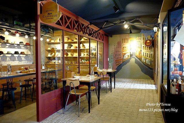 1444151551 283672772 - 【台中西區.義式餐廳】薄多義義式手工披薩  Bite 2 eat.高雄來的平價義式餐廳,吸引人的除了餐點,還有那打造成歐洲街道的環境
