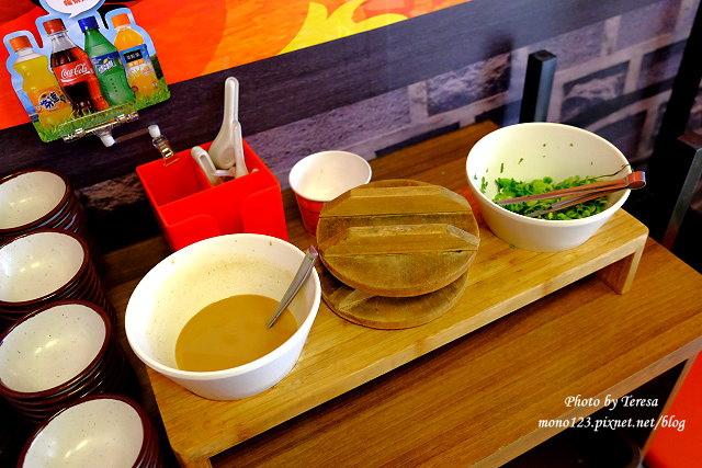 1444237142 1187314274 - 熱血採訪│東海火鍋那個鍋,可以選辣度的麻辣小火鍋,白飯、那個麵吃到飽,平價又美味,最新推出又酸又辣的狂野泡椒鍋,愛酸又愛辣的你一定要來挑