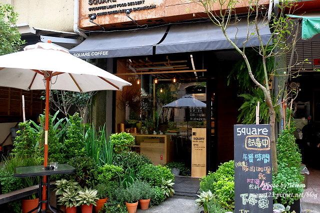 1459957618 435211881 - 【台中西區.下午茶】Square Kitchen Coffee.以花藝空間為主題的咖啡館,簡約的清新設計風格,近科博館商圈