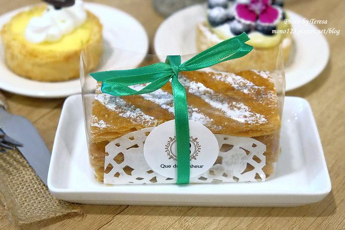 1479313524 2356407105 - 【台中豐原】格外幸福法式甜點 Que du Bonheur.以千層派的派皮為基底的法式甜點店,近豐原火車站、太平洋sogo