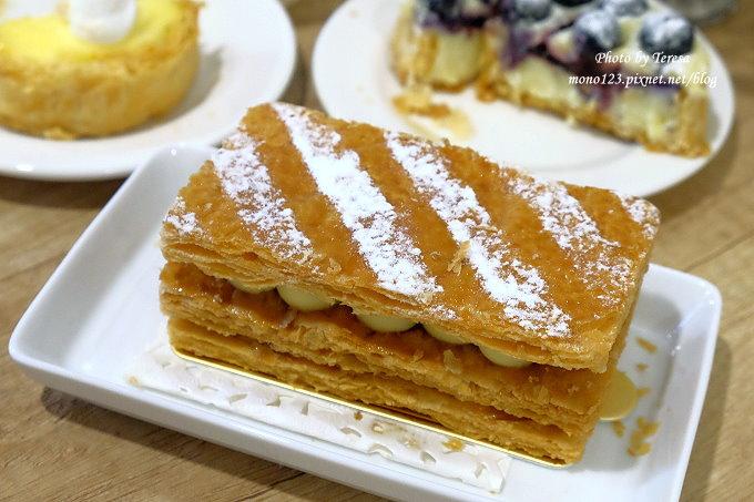 1479313526 1388666214 - 【台中豐原】格外幸福法式甜點 Que du Bonheur.以千層派的派皮為基底的法式甜點店,近豐原火車站、太平洋sogo