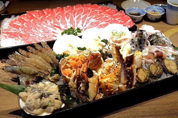 1481908338 2513723370 - 熱血採訪︱鮨樂海鮮市場 火鍋.新鮮食材看得到,四人海陸套餐豪華又霸氣,火鍋、日本料理、串燒、超市這裡通通有