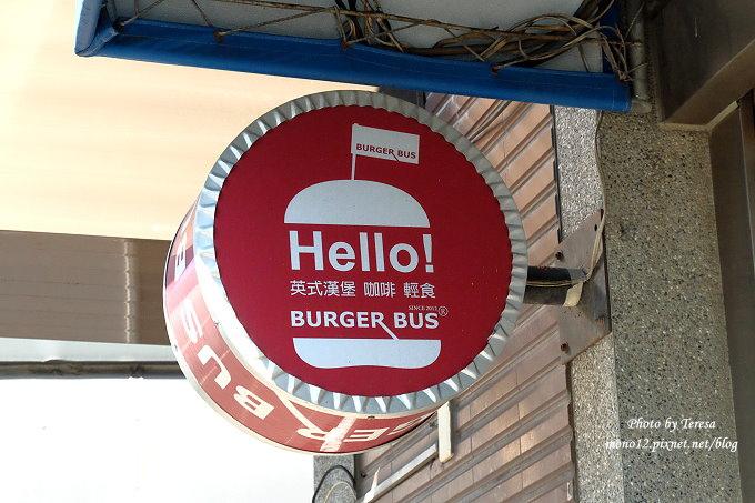 1482854385 3116536202 - 熱血採訪︱台中東區︱漢堡巴士 Burger Bus.旱溪夜市旁充滿英國風味的早午餐店,還有許多可愛的紅色小巴士和水管人,近旱溪夜市、台中火車站