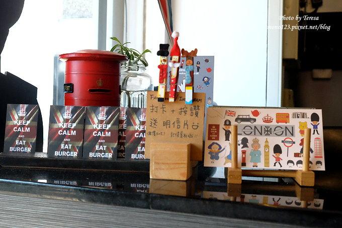 1482854391 286696033 - 熱血採訪︱台中東區︱漢堡巴士 Burger Bus.旱溪夜市旁充滿英國風味的早午餐店,還有許多可愛的紅色小巴士和水管人,近旱溪夜市、台中火車站