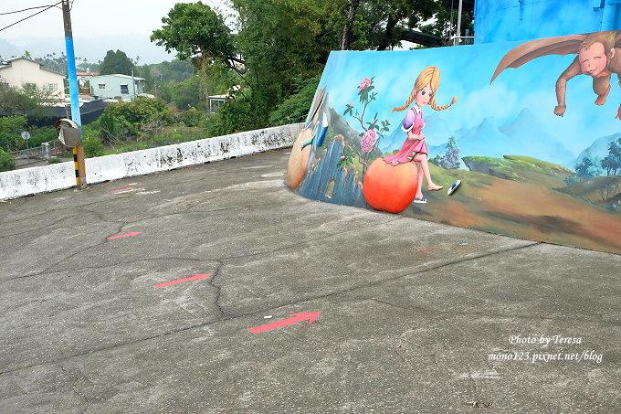 1492362423 1305827785 - 台中石岡︱綠野仙蹤4D彩繪.以童話故事為主題的全國最大互動式4D彩繪牆,面積雖然不大,但很好拍