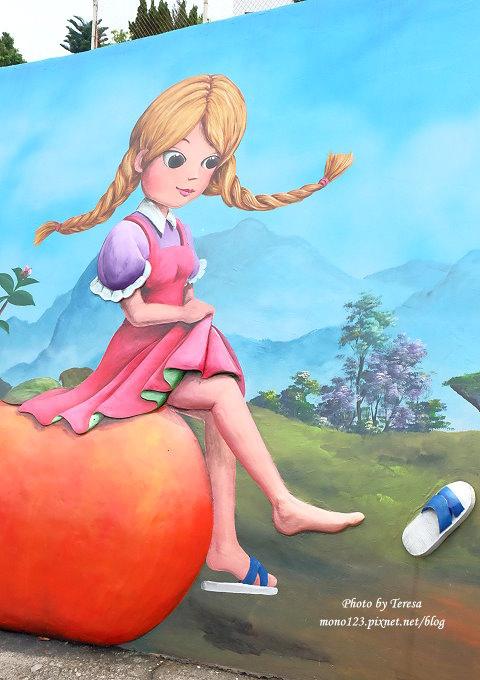 1492362433 2183051522 - 台中石岡︱綠野仙蹤4D彩繪.以童話故事為主題的全國最大互動式4D彩繪牆,面積雖然不大,但很好拍
