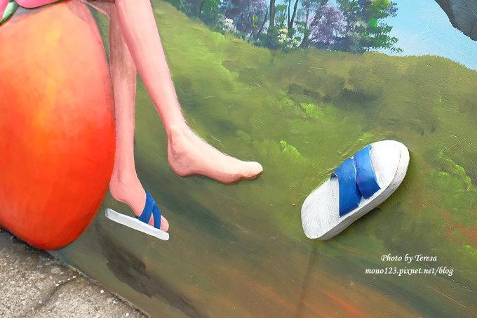 1492362434 43532656 - 台中石岡︱綠野仙蹤4D彩繪.以童話故事為主題的全國最大互動式4D彩繪牆,面積雖然不大,但很好拍