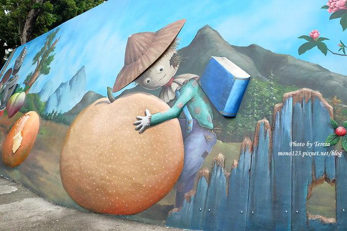 1492362435 585563864 - 台中石岡︱綠野仙蹤4D彩繪.以童話故事為主題的全國最大互動式4D彩繪牆,面積雖然不大,但很好拍