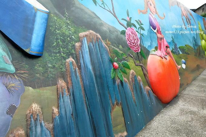 1492362437 3478840126 - 台中石岡︱綠野仙蹤4D彩繪.以童話故事為主題的全國最大互動式4D彩繪牆,面積雖然不大,但很好拍