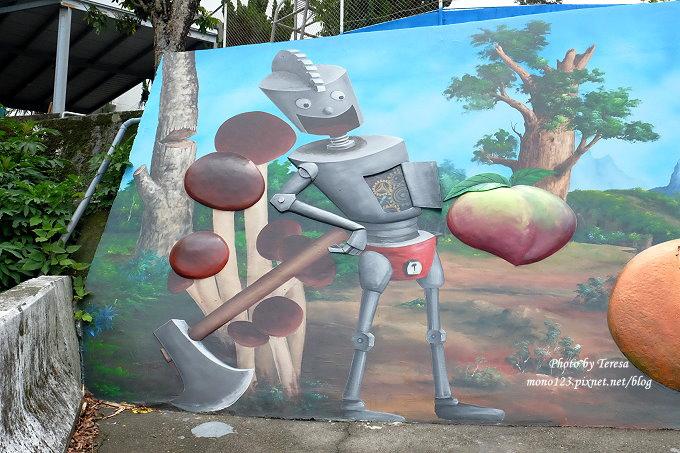 1492362440 1125983291 - 台中石岡︱綠野仙蹤4D彩繪.以童話故事為主題的全國最大互動式4D彩繪牆,面積雖然不大,但很好拍
