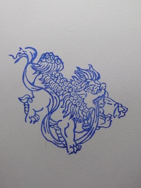 49 彩帶獅
