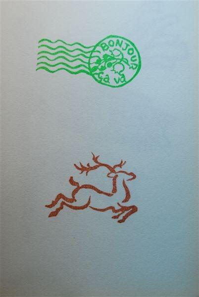 53&54 郵戳&麋鹿