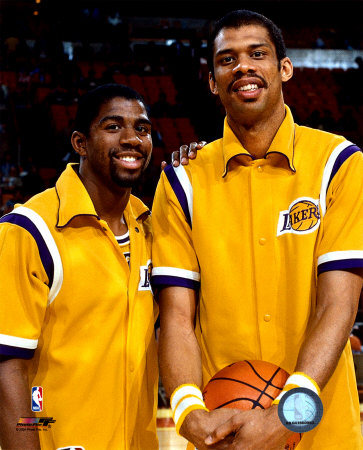 Magic Johnson & Jabbar