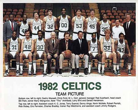 1982 Boston Celtics