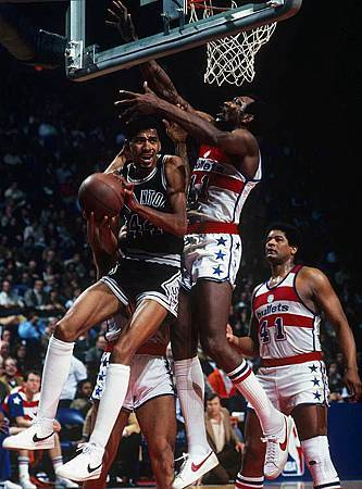 Gervin vs. Bullets