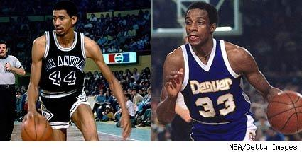 Gervin vs. Thompson
