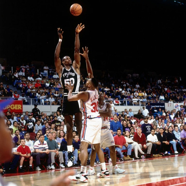 David Robinson 71 points