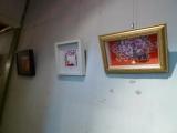 嘉義市玉山旅社:不定期的展覽作品