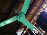 嘉義市玉山旅社:很像竹蜻蜓的電風扇,念人懷念的顏色