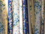嘉義市玉山旅社:二樓的窗簾花布,劇組留下