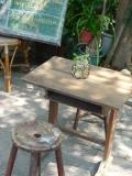 嘉義市玉山旅社:木桌子和木椅子的悄悄話