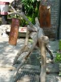 嘉義市玉山旅社:這是漂流木嗎