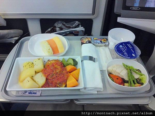 英航尊貴客艙餐點