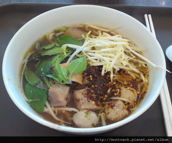 來曼谷必吃的牛雜湯