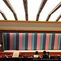 歌舞伎座 6- 從一幕見席望向舞台