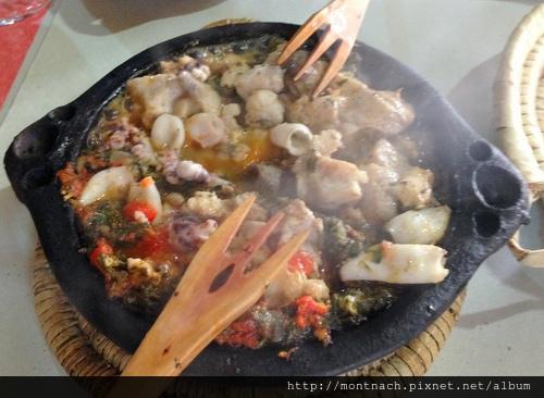 很好吃的海鮮波菜tagine